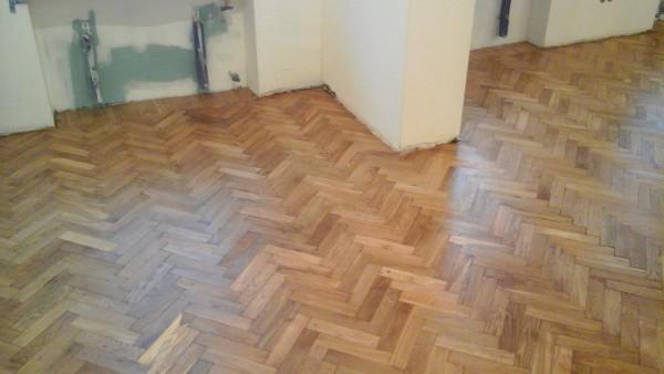 po renowacji podłogi